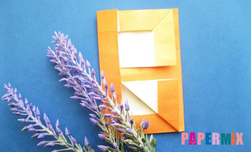 Как сделать цифру 8 из бумаги в технике оригами своими руками