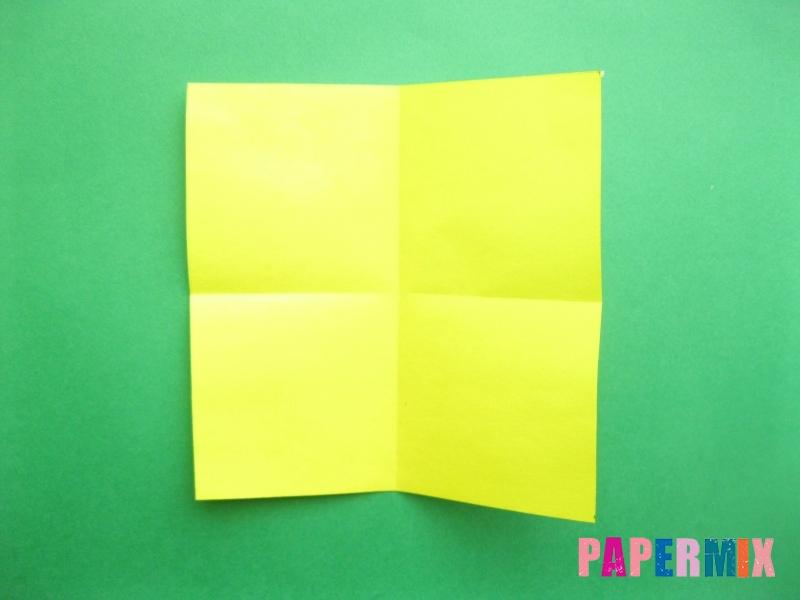 Как сделать цифру 9 из бумаги (оригами) своими руками - шаг 1