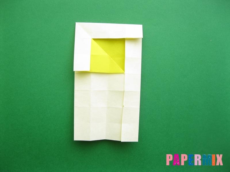 Как сделать цифру 9 из бумаги (оригами) своими руками - шаг 11