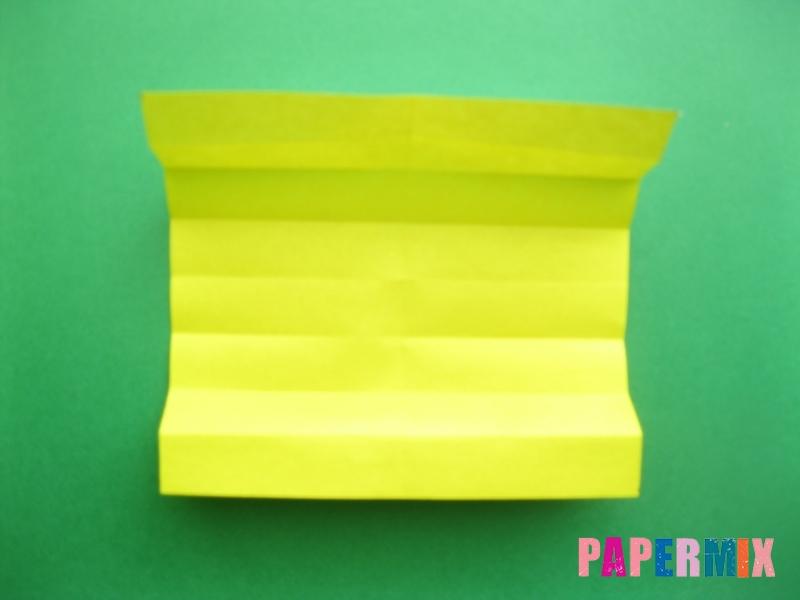 Как сделать цифру 9 из бумаги (оригами) своими руками - шаг 4