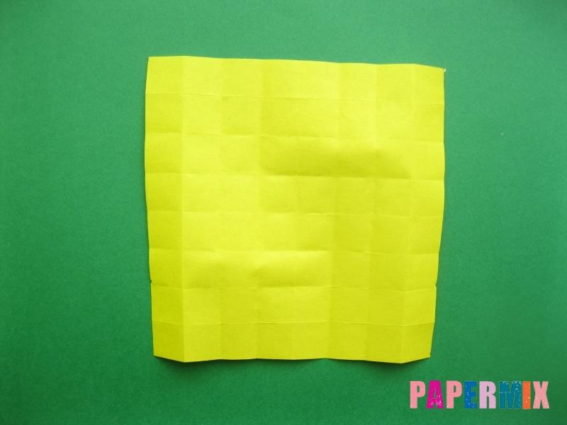 Как сделать цифру 9 из бумаги (оригами) своими руками - шаг 7