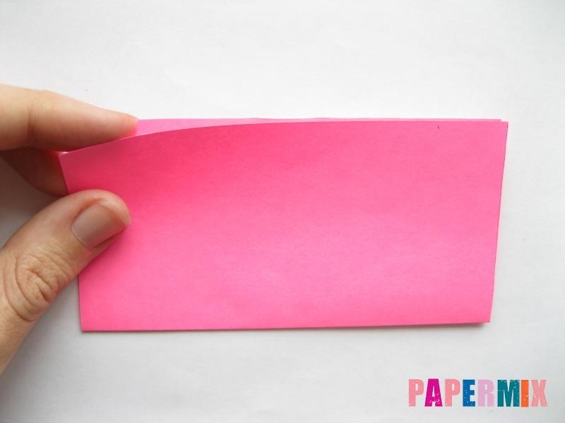 Как сделать диван из бумаги (оригами) поэтапно - шаг 1