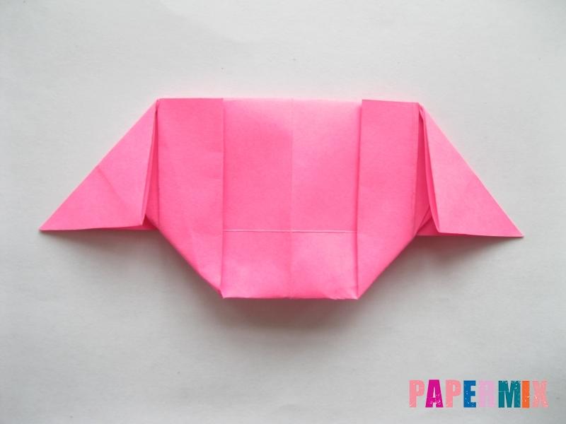 Как сделать диван из бумаги (оригами) поэтапно - шаг 11
