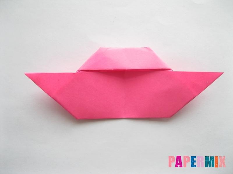 Как сделать диван из бумаги (оригами) поэтапно - шаг 12