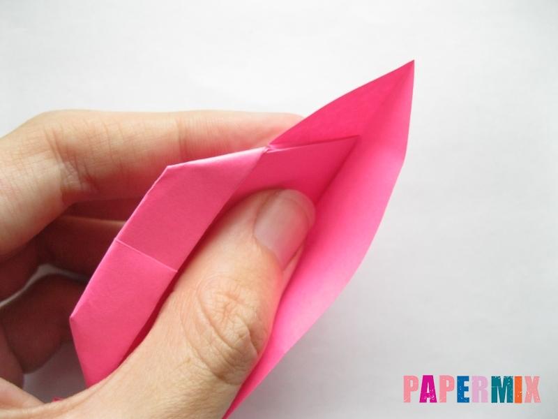 Как сделать диван из бумаги (оригами) поэтапно - шаг 13
