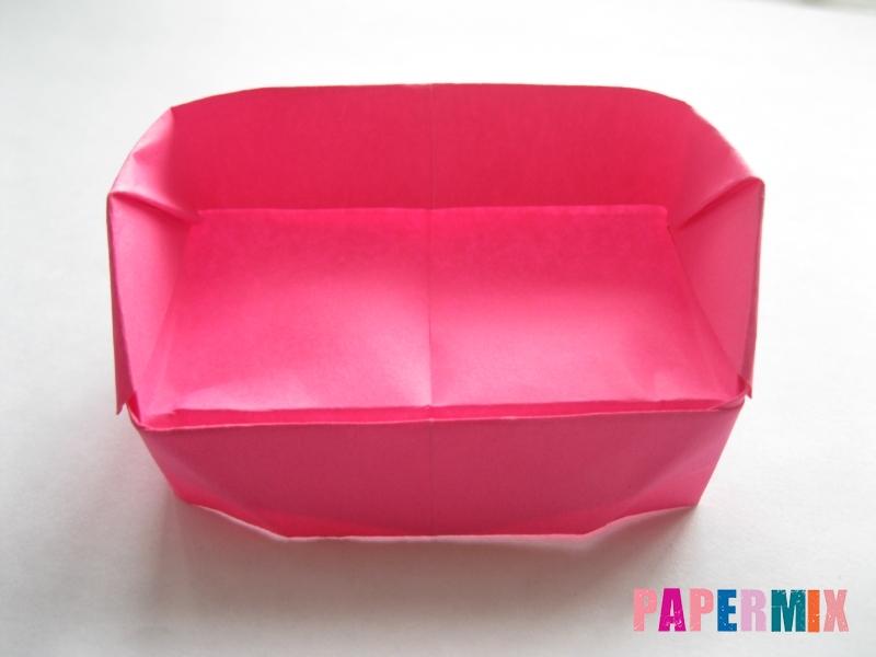 Как сделать диван из бумаги (оригами) поэтапно - шаг 18