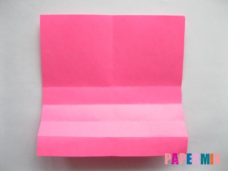 Как сделать диван из бумаги (оригами) поэтапно - шаг 4