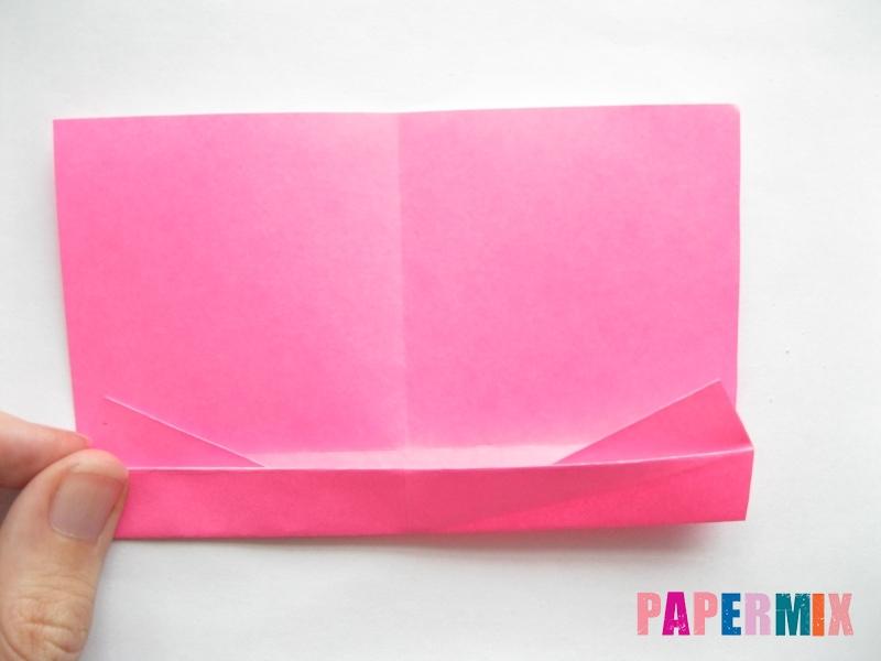 Как сделать диван из бумаги (оригами) поэтапно - шаг 7