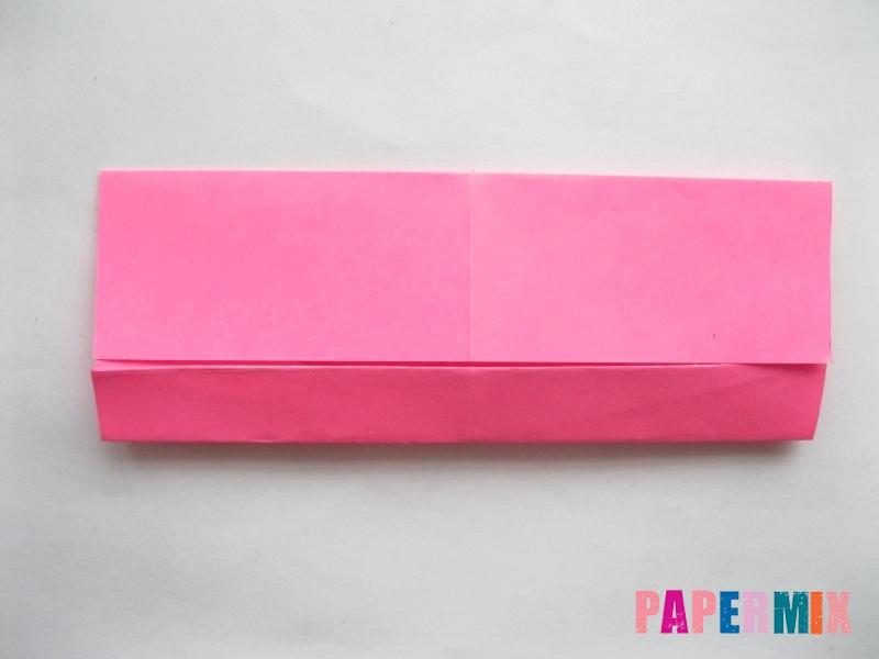 Как сделать диван из бумаги (оригами) поэтапно - шаг 8