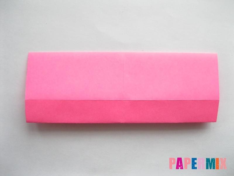 Как сделать диван из бумаги (оригами) поэтапно - шаг 9