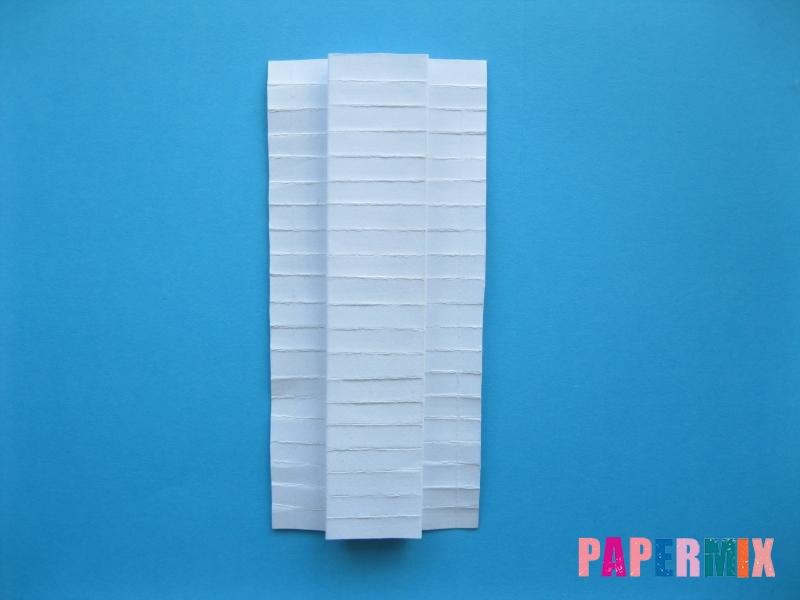 Как сделать галстук бабочку из бумаги своими руками - шаг 12