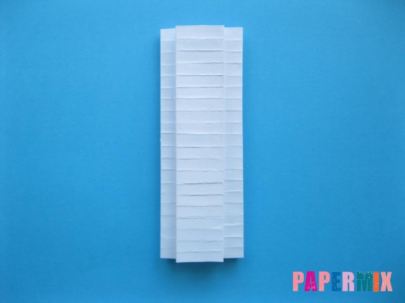 Как сделать галстук бабочку из бумаги своими руками - шаг 13