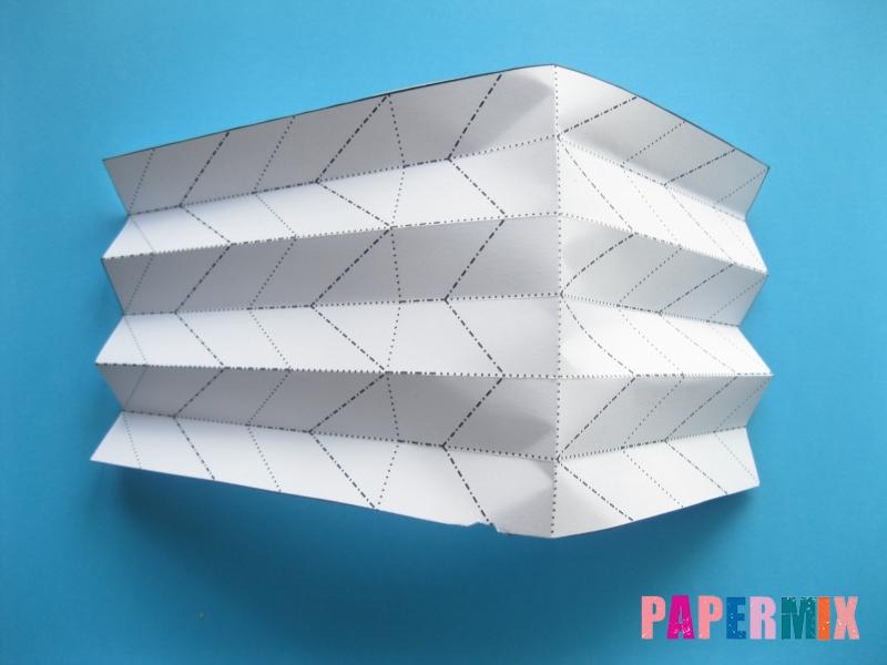 Как сделать галстук бабочку из бумаги своими руками - шаг 4