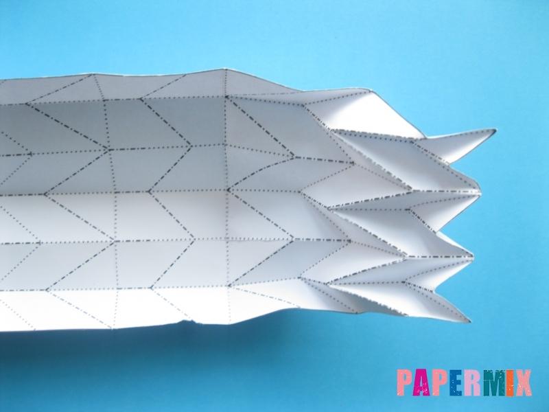 Как сделать галстук бабочку из бумаги своими руками - шаг 5