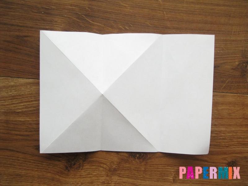 Как сделать кепку с козырьком из бумаги своими руками - шаг 8