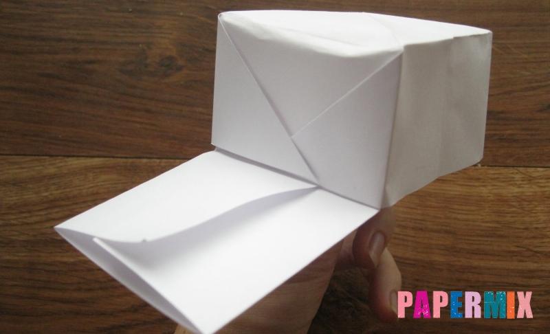 Как сделать кепку с козырьком из бумаги своими руками поэтапно