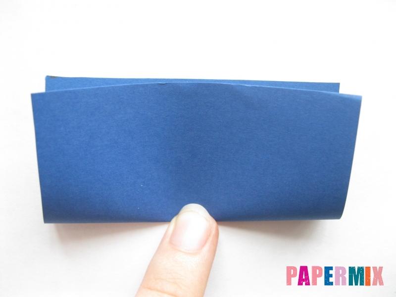 Как сделать книжный шкаф из бумаги (оригами) поэтапно - шаг 1