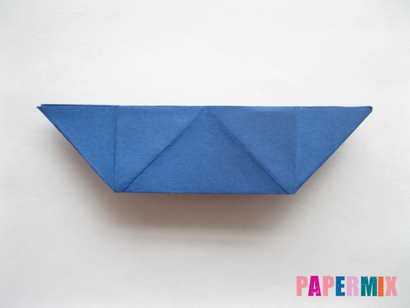 Как сделать книжный шкаф из бумаги (оригами) поэтапно - шаг 12