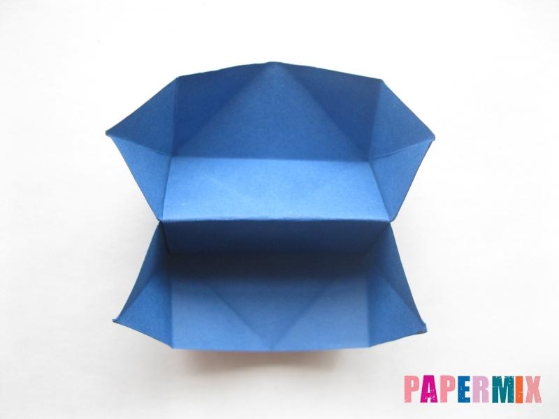 Как сделать книжный шкаф из бумаги (оригами) поэтапно - шаг 14