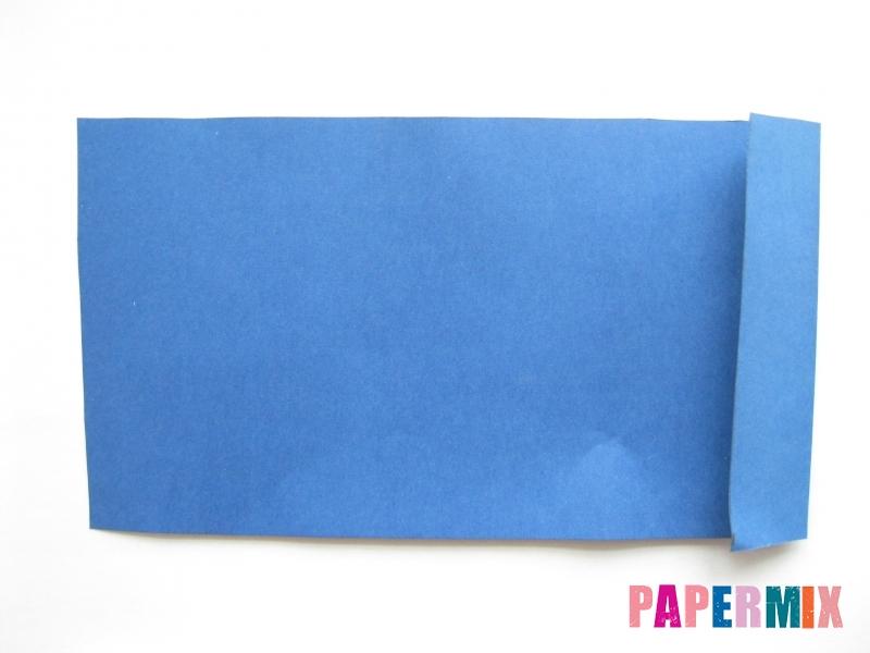 Как сделать книжный шкаф из бумаги (оригами) поэтапно - шаг 15