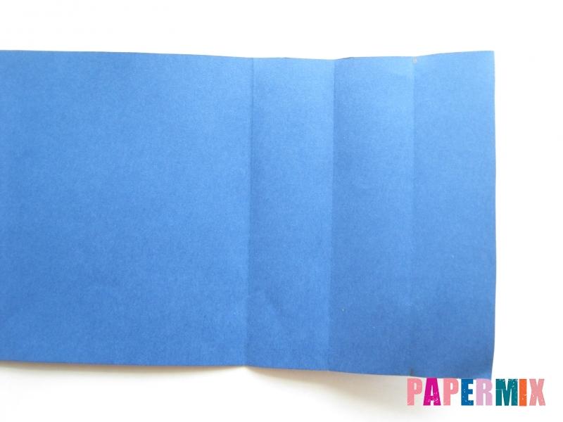 Как сделать книжный шкаф из бумаги (оригами) поэтапно - шаг 16