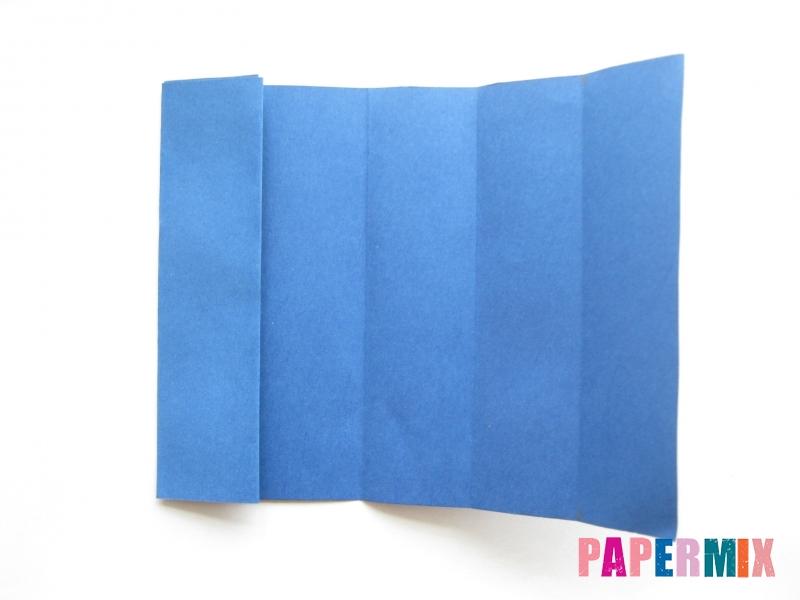 Как сделать книжный шкаф из бумаги (оригами) поэтапно - шаг 17