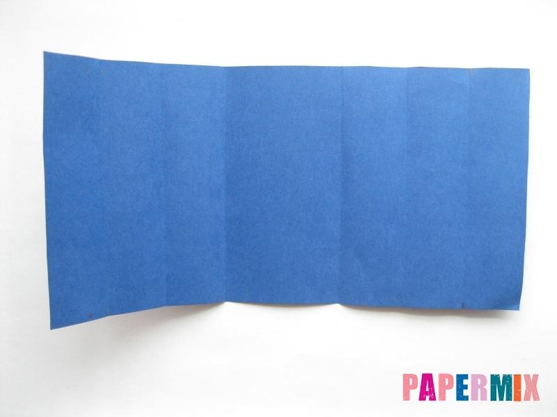 Как сделать книжный шкаф из бумаги (оригами) поэтапно - шаг 18