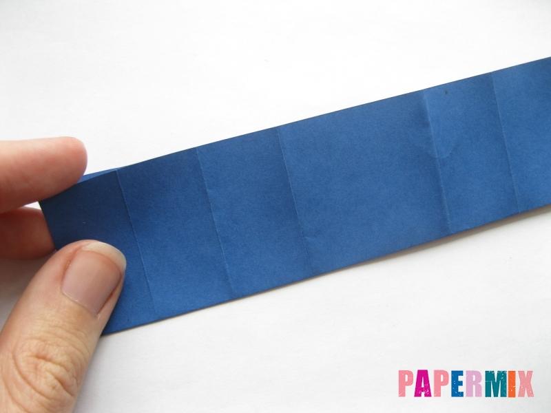 Как сделать книжный шкаф из бумаги (оригами) поэтапно - шаг 19