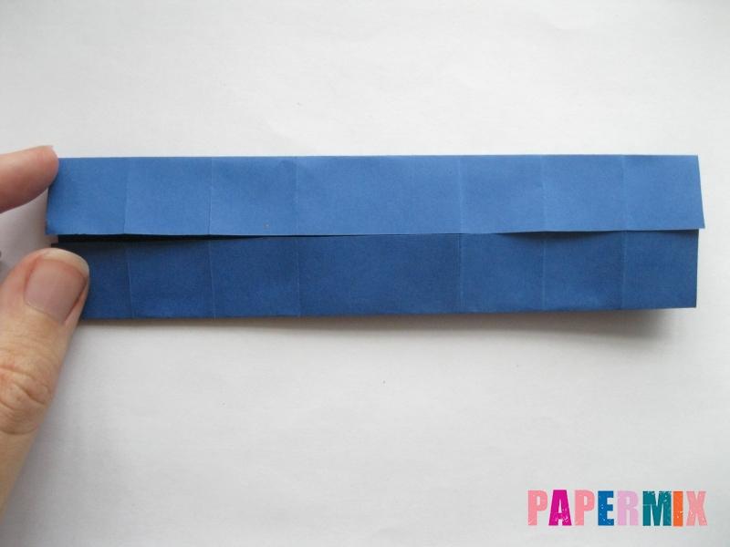 Как сделать книжный шкаф из бумаги (оригами) поэтапно - шаг 20
