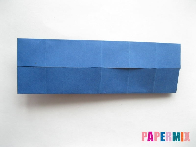 Как сделать книжный шкаф из бумаги (оригами) поэтапно - шаг 21