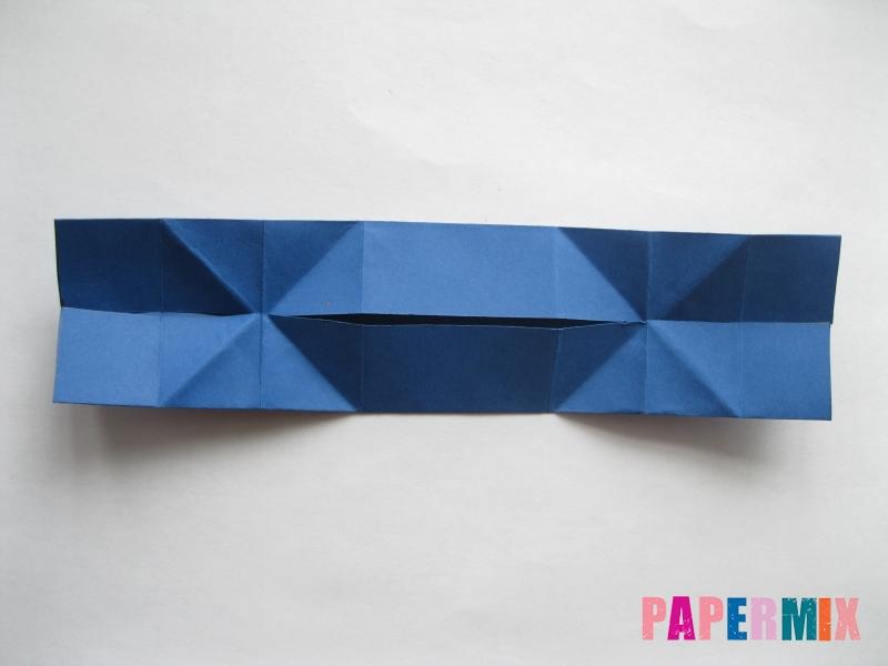 Как сделать книжный шкаф из бумаги (оригами) поэтапно - шаг 24