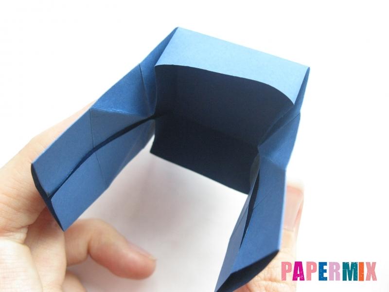 Как сделать книжный шкаф из бумаги (оригами) поэтапно - шаг 26