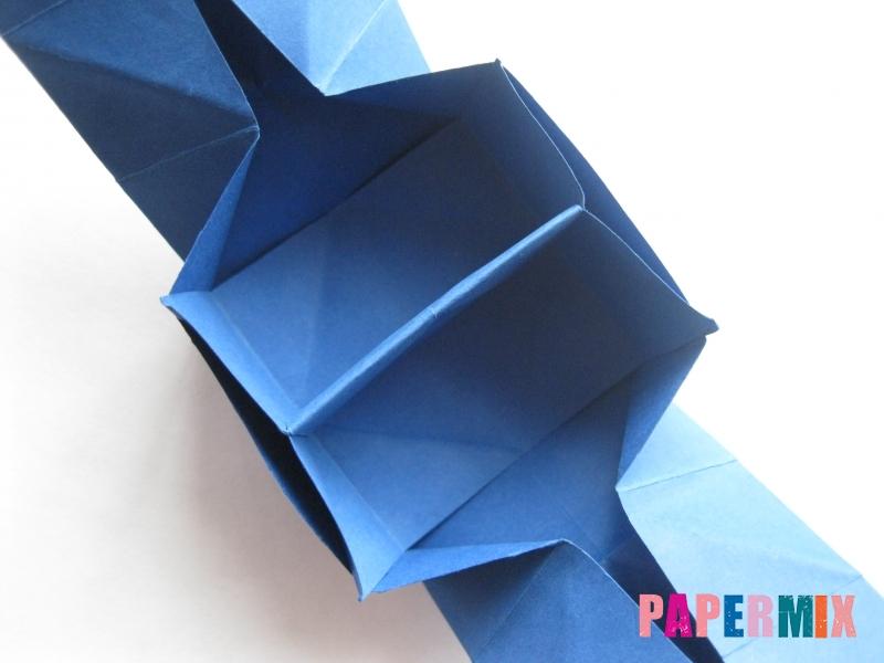 Как сделать книжный шкаф из бумаги (оригами) поэтапно - шаг 27