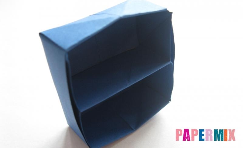 Как сделать книжный шкаф из бумаги (оригами) поэтапно - шаг 29