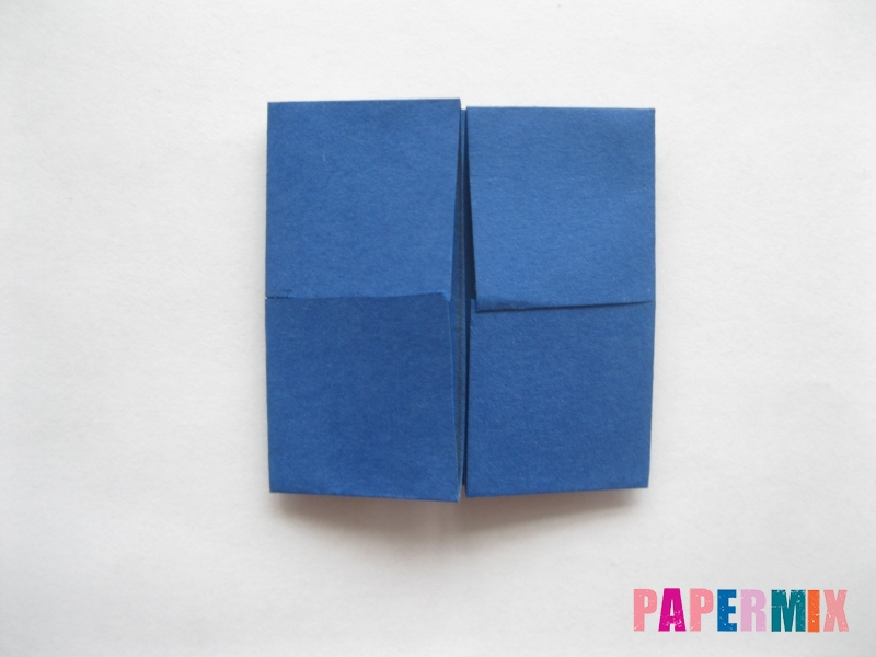 Как сделать книжный шкаф из бумаги (оригами) поэтапно - шаг 6