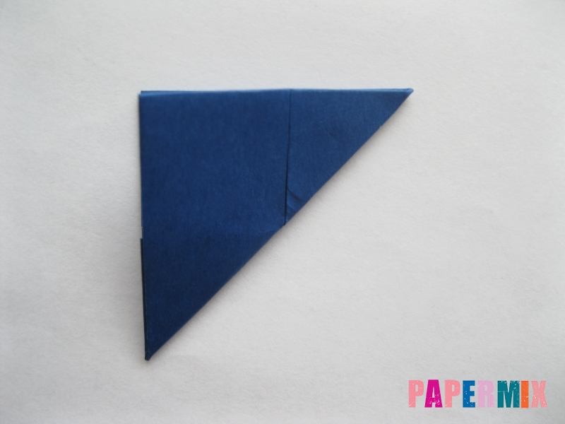 Как сделать книжный шкаф из бумаги (оригами) поэтапно - шаг 7