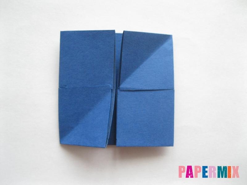 Как сделать книжный шкаф из бумаги (оригами) поэтапно - шаг 8