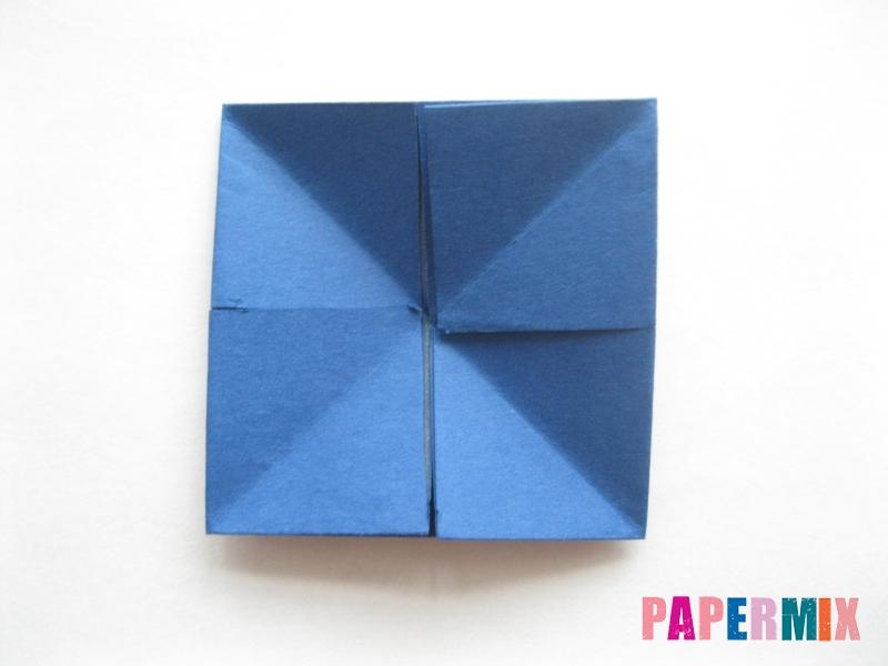 Как сделать книжный шкаф из бумаги (оригами) поэтапно - шаг 9