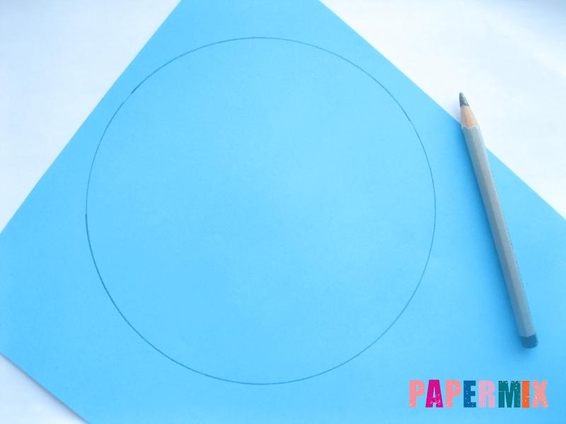 Как сделать конус из бумаги пошаговая инструкция - шаг 1