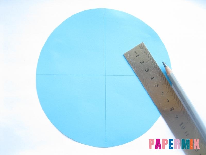 Как сделать конус из бумаги пошаговая инструкция - шаг 3