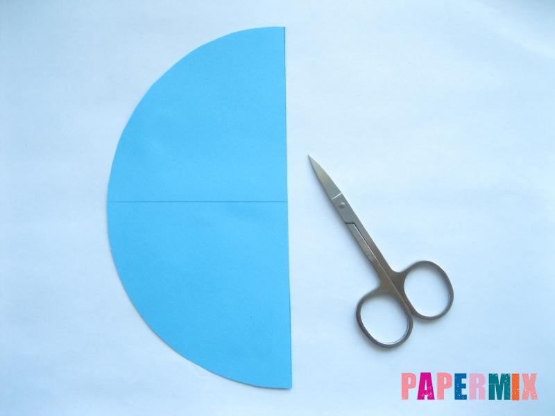 Как сделать конус из бумаги пошаговая инструкция - шаг 4