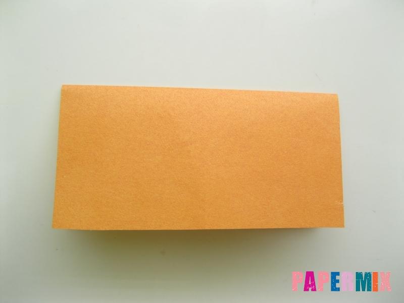 Как сделать корону из бумаги (оригами) своими руками - шаг 1