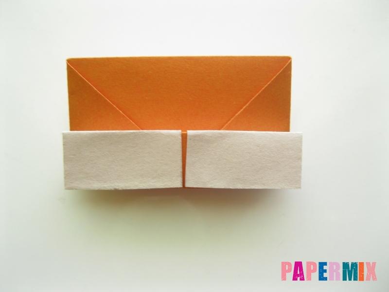 Как сделать корону из бумаги (оригами) своими руками - шаг 10
