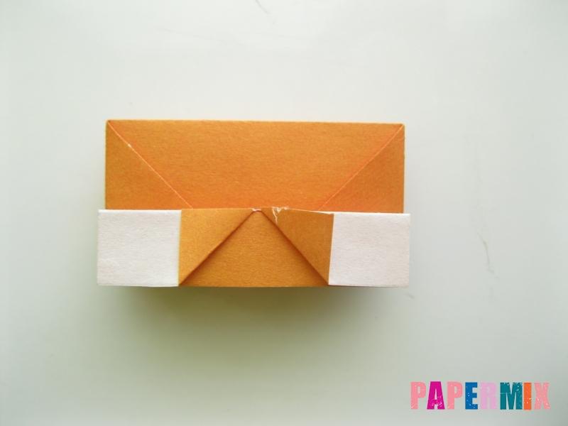 Как сделать корону из бумаги (оригами) своими руками - шаг 11