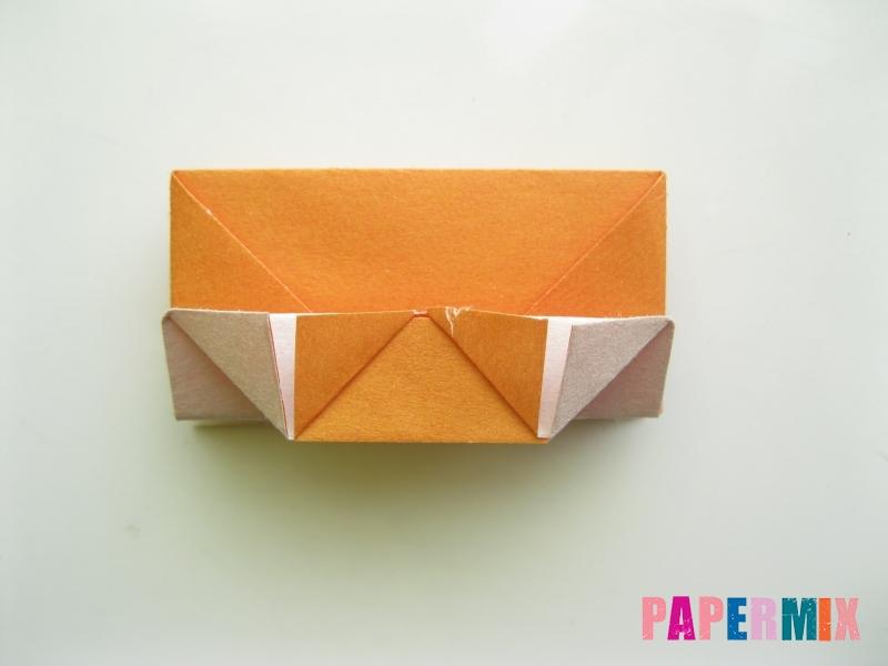 Как сделать корону из бумаги (оригами) своими руками - шаг 12