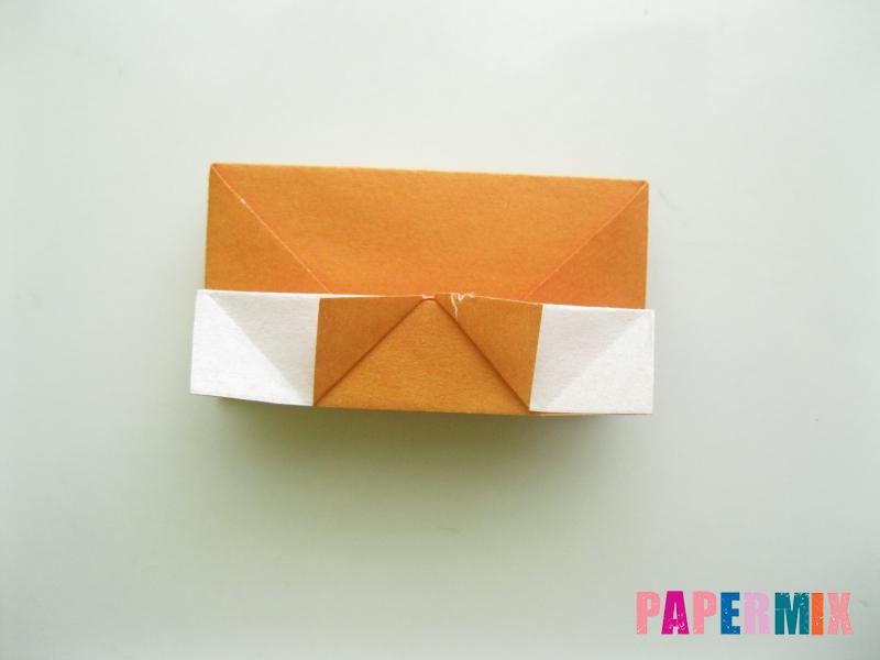Как сделать корону из бумаги (оригами) своими руками - шаг 13