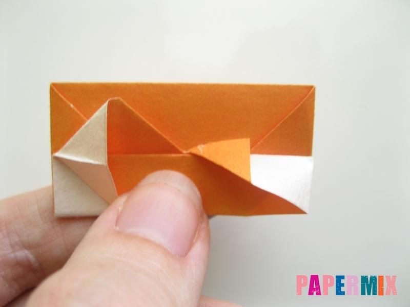 Как сделать корону из бумаги (оригами) своими руками - шаг 14