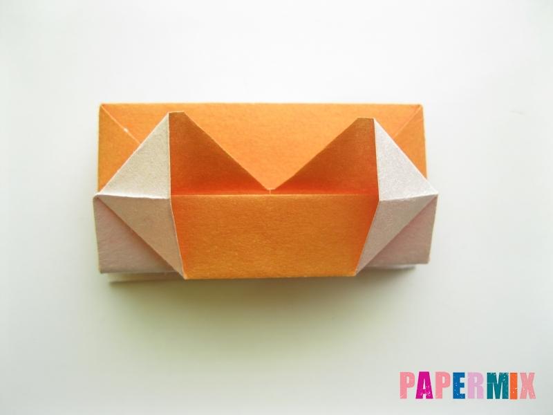 Как сделать корону из бумаги (оригами) своими руками - шаг 15