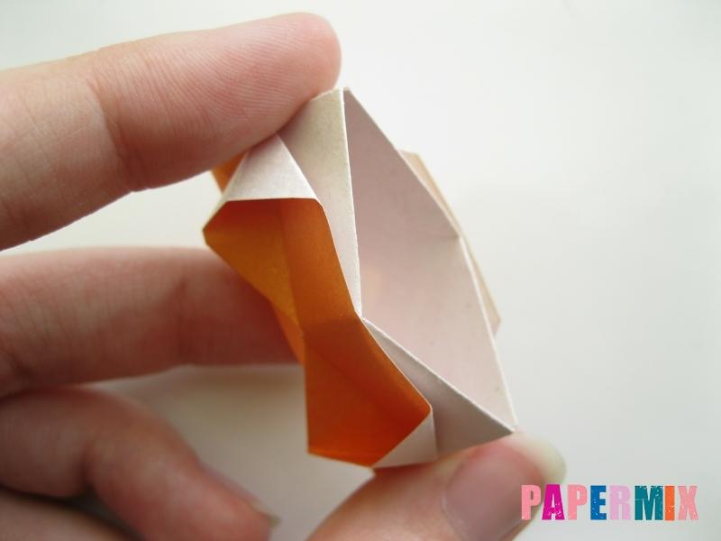 Как сделать корону из бумаги (оригами) своими руками - шаг 16