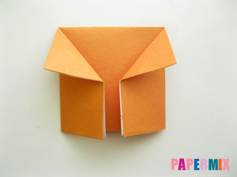 Как сделать корону из бумаги (оригами) своими руками - шаг 3